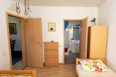 Ferienwohnung 2: Schlafzimmer
