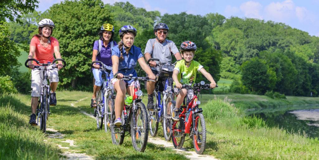 Rad fahren, wandern und mountainbiken rund um die Ferienwohnung am Himerich in Gladenbach.